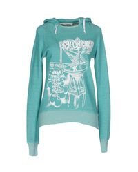 Golden Goose Deluxe Brand - Green Sweatshirt - Lyst