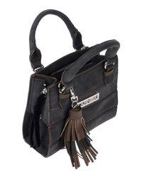 CafeNoir - Gray Handbag - Lyst