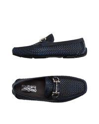 Ferragamo Blue Loafer for men