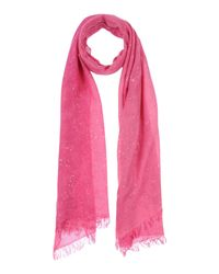 Valentino Pink Oblong Scarf