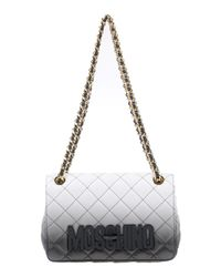 Moschino - Black Shoulder Bags - Lyst