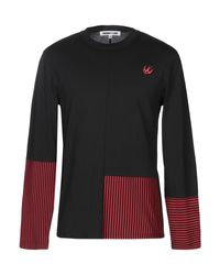 McQ Alexander McQueen Black T-shirt for men