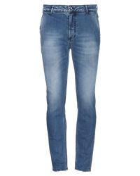 Yan Simmon Blue Denim Trousers for men