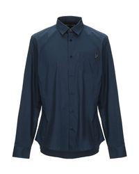 Camicia di Versace Jeans in Blue da Uomo