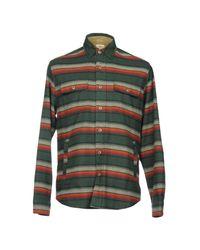 Faherty Brand Green Shirt for men