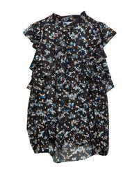 Blusa di Veronica Beard in Black