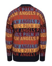 Pullover di Palm Angels in Multicolor da Uomo