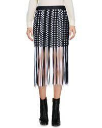 Anne Sofie Madsen Black Mini Skirt