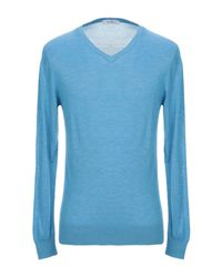 Pullover di Sonrisa in Blue da Uomo