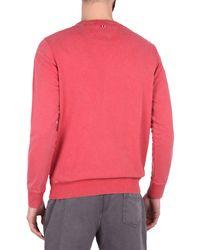 Napapijri Red Sweatshirt for men