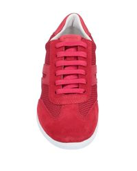 Sneakers & Tennis shoes basse di Geox in Red