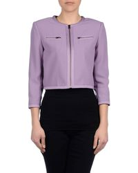 Boutique Moschino - Purple Blazers - Lyst