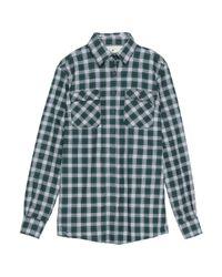 Camicia di Macchia J in Green da Uomo