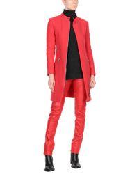 Moschino Red Overcoats