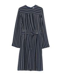 Vestito al ginocchio di Chloé in Blue