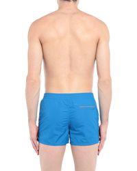 Sundek Blue Swimming Trunks for men