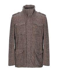 Herno Brown Jacket for men