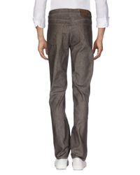 Jeckerson Gray Denim Pants for men