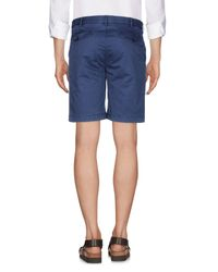 Marina Yachting Blue Bermuda Shorts for men