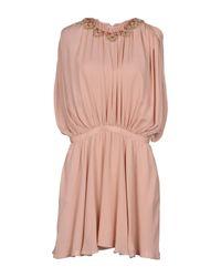 Valentino Pink Short Dress
