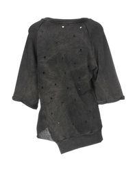 Berna Gray Sweatshirt