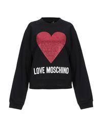Felpa di Love Moschino in Black