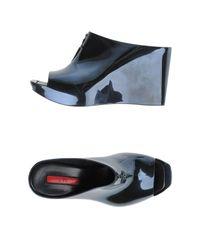 Cesare Paciotti - Black Sandals - Lyst