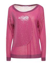 Pullover Les Copains de color Pink