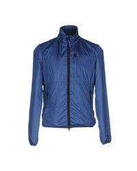 Aspesi Blue Jacket for men