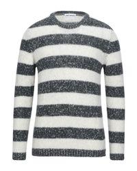 Umit Benan Black Sweater for men