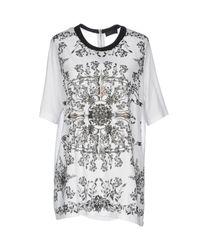 John Richmond - White T-shirts - Lyst