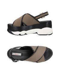 Jucca Green Sandals