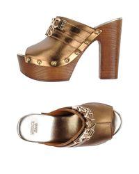 Versace Jeans - Multicolor Sandals - Lyst