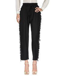 Suoli Black Casual Pants