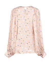 Blusa di Erika Cavallini Semi Couture in Pink
