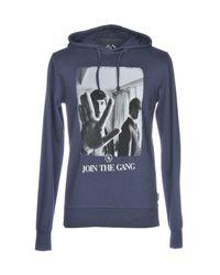 Boombap Blue Sweatshirt for men