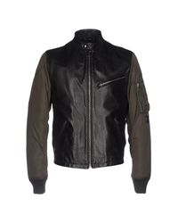 Dolce & Gabbana Black Jackets for men