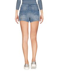 7 For All Mankind Blue Jeansshorts