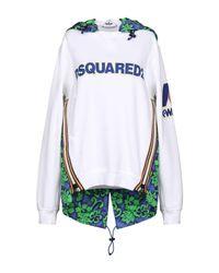 Sweat-shirt DSquared² en coloris White