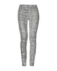 Pantalone di Versace Jeans in Gray