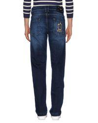 Billionaire Blue Denim Pants for men