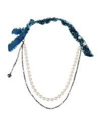 Lanvin   Multicolor Necklace   Lyst
