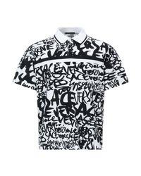 Versace White Polo Shirt for men