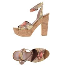 Gianna Meliani Multicolor Sandals