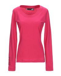 Love Moschino Pink T-shirts