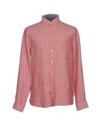 Tommy Hilfiger Red Shirt for men