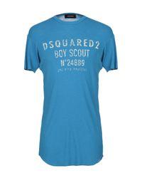 DSquared² T-shirts in Blue für Herren