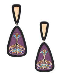 Anna E Alex - Purple Earrings - Lyst