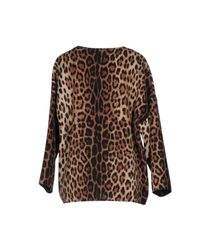 Boutique Moschino Brown Blouse