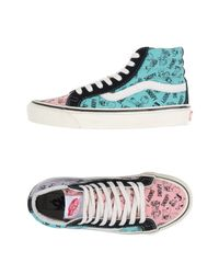 Vans | Pink High-tops & Trainers | Lyst